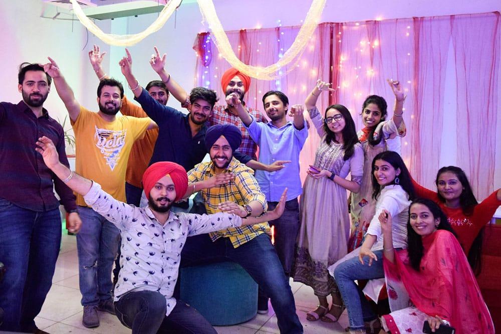 Unoia-tech-Office-Diwali-Celebrations