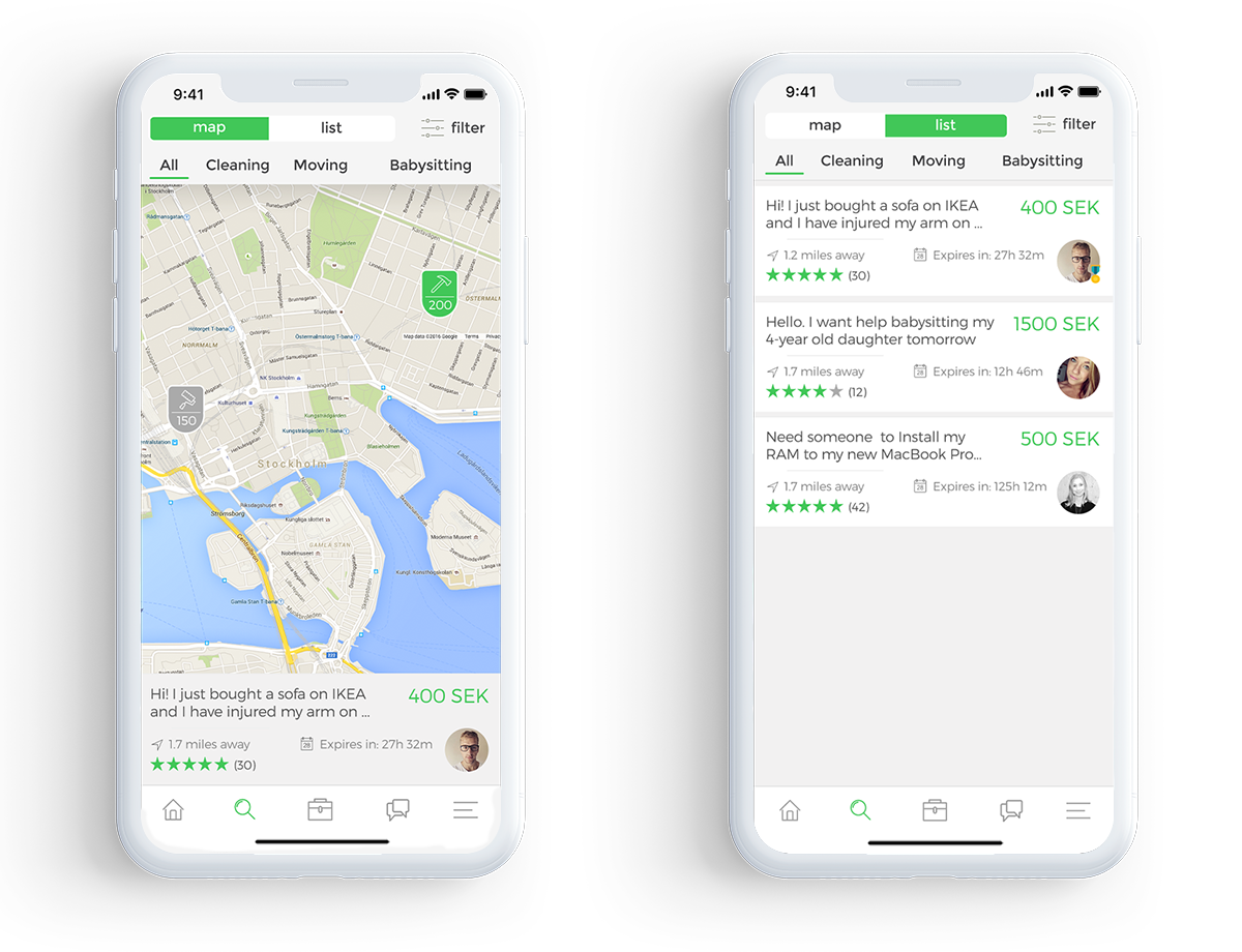 On-Demand-Mobile-App-Map-List-View