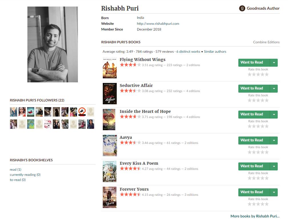 Goodreads-Marketing-Author-Rishabh-Puri