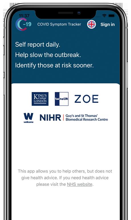 COVID-Symptom-Tracker-App
