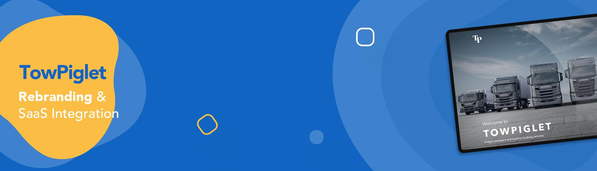Tow Piglet – Website Rebranding & SaaS Integration