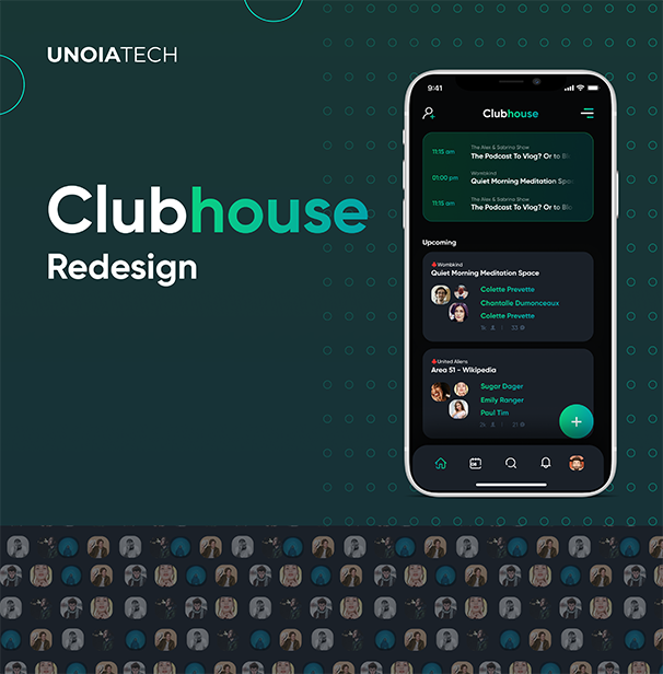 Clubhouse-UI-UX-Redesign